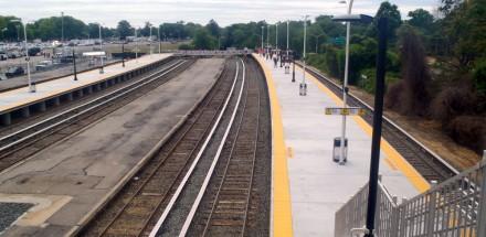 Belmont Park Train Station